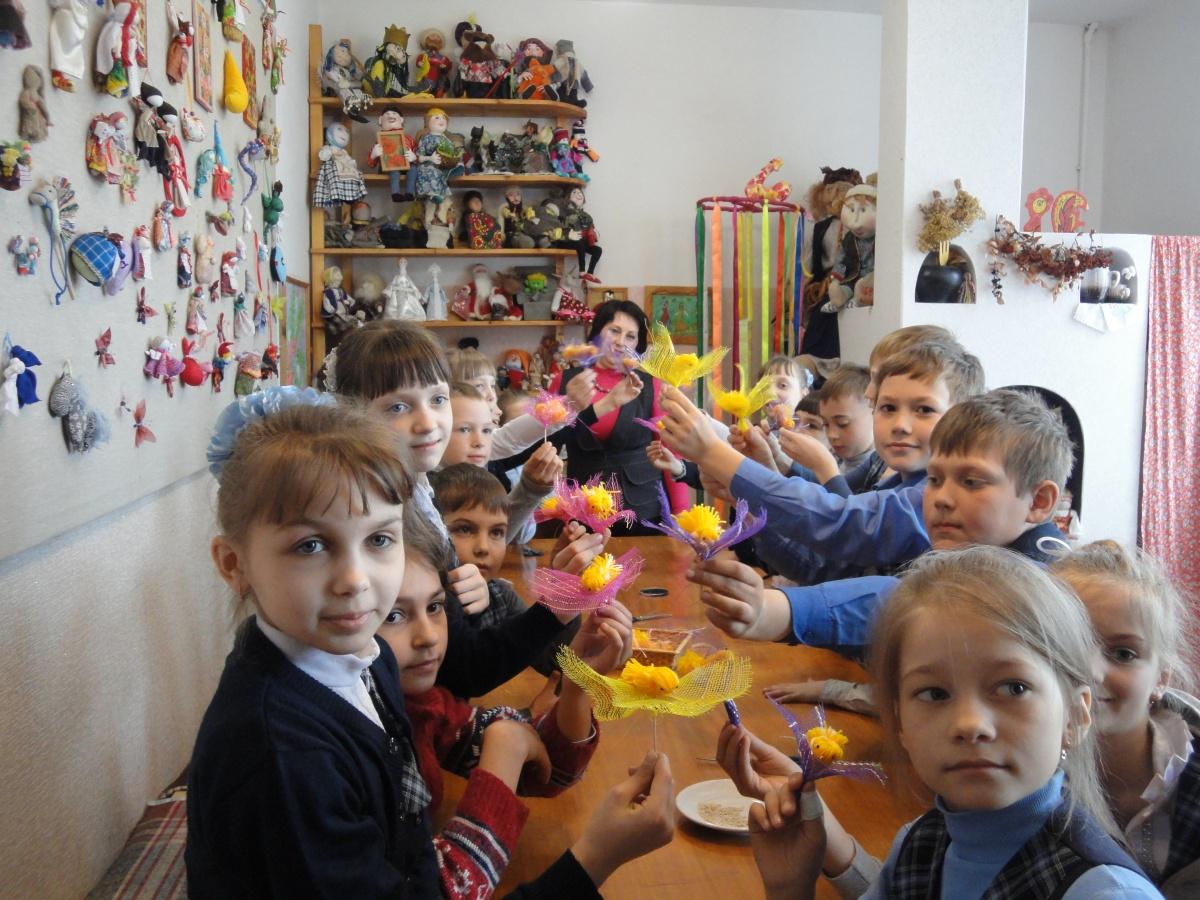 Мастер-класс для учащихся младших классов МАОУ